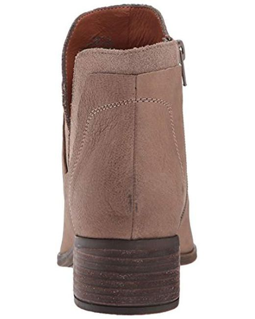 5c62e4e2b4b Lyst - Lucky Brand Lelah Ankle Boot in Brown - Save 70%