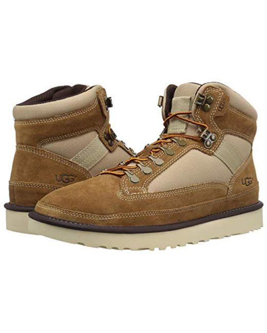 19a287823ba Men's Brown Highland Hiker Hiking Boot