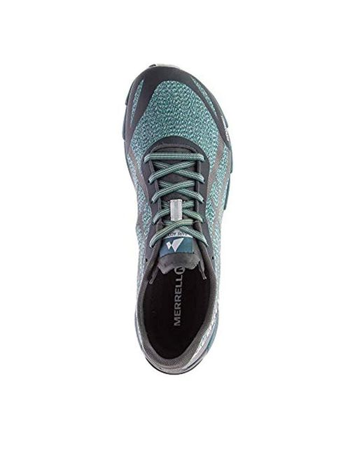 preview of great look discount Merrell Bare Access Flex Shield Fitness Shoes in Green for Men - Lyst