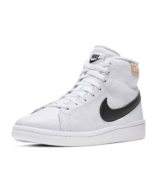Nike Court Royale 2 MID Tennisschuh in White für Herren