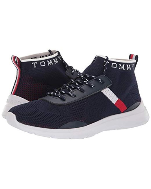 b8fa093d2dea ... Tommy Hilfiger - Blue H-cabello Sneaker for Men - Lyst ...
