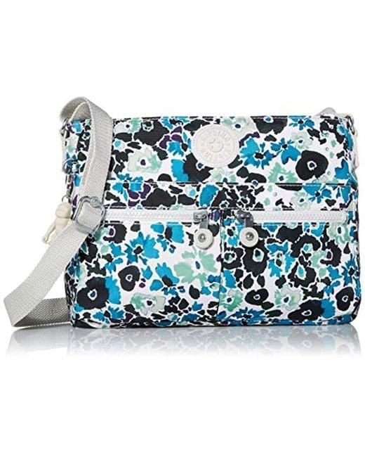 Kipling Blue Angie Handbag Convertible Cross Body