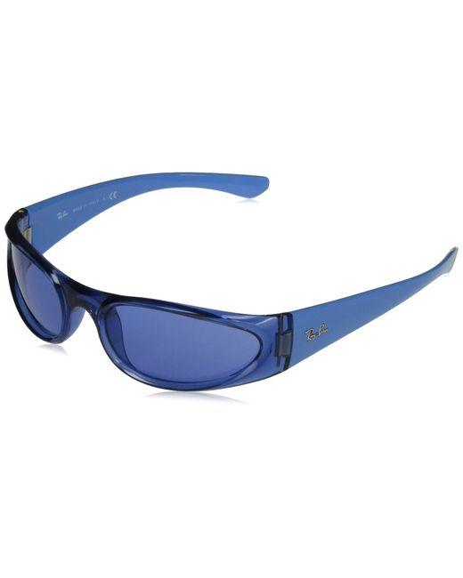 0RB4332-648380-57 Lunettes de Repos Ray-Ban en coloris Blue