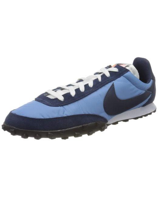 Nike Blue Waffle Racer Running Shoe for men