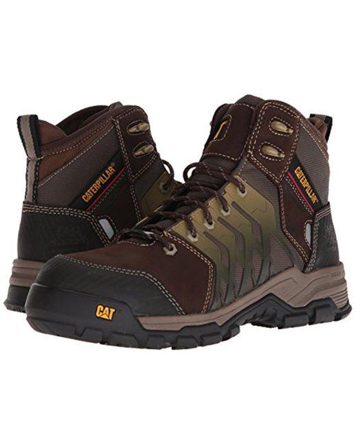 488060f1695 Men's Induction Waterproof Nano Toe Brown Industrial Boot