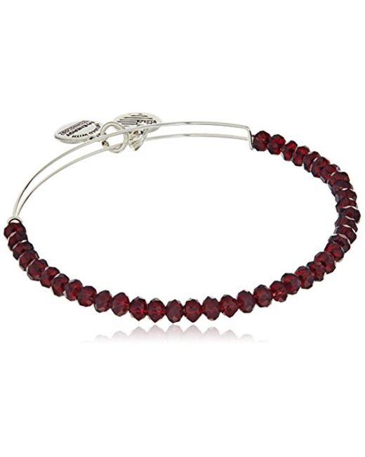 ALEX AND ANI - Multicolor Brilliance Bead Pink/shinny Bracelet - Lyst