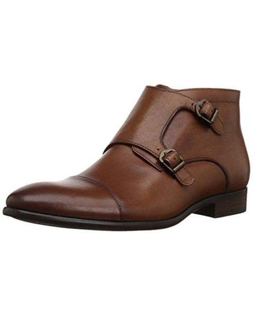 ALDO - Brown Hondo-r Ankle Bootie - Lyst