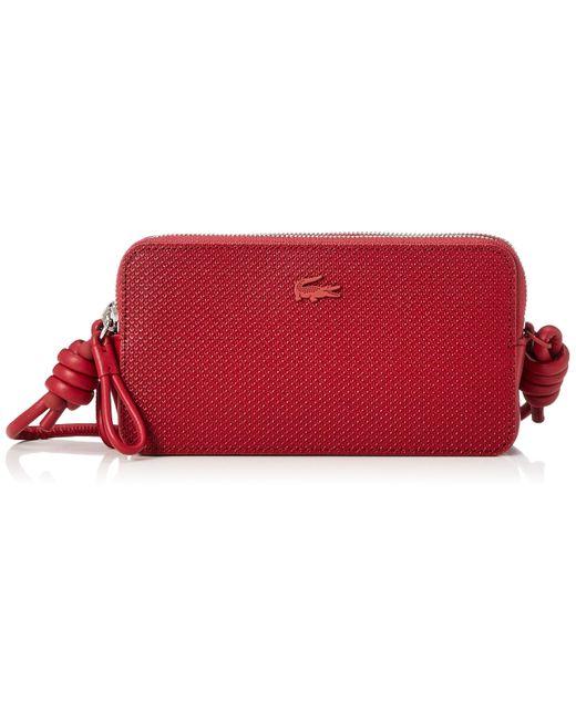 Chantaco Phone Clutch Alizarine Lacoste pour homme en coloris Red