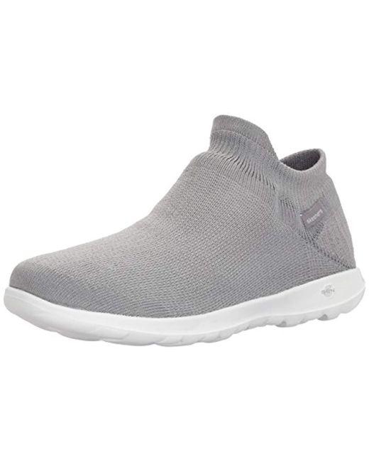 fotos oficiales 09145 cca59 15372, Zapatillas sin Cordones para Mujer de color gris