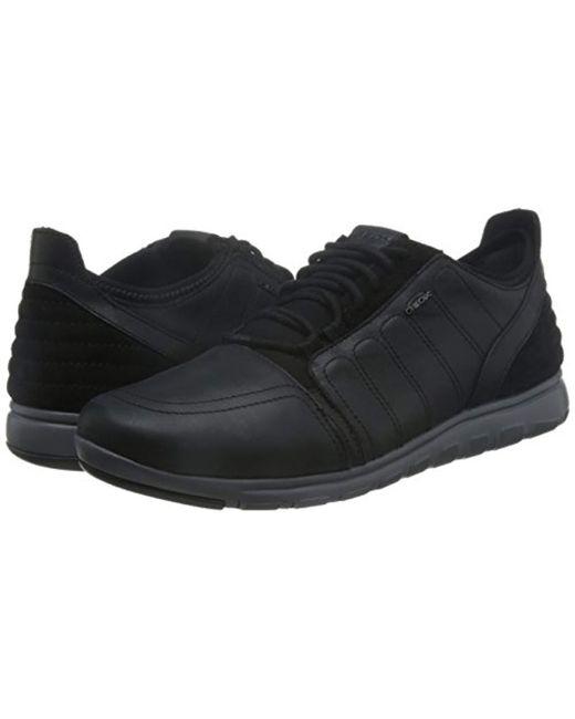 cef07c1b120741 geox-Schwarz-Blackc9999-s-U-Xunday-2fit-A-Low-top-Sneakers.jpeg