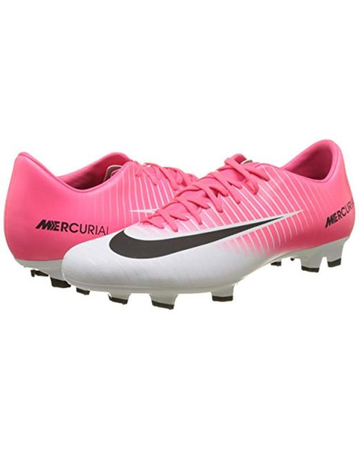 premium selection 298b2 d1fc6 Men's Pink Mercurial Victory Vi Fg Footbal Shoes