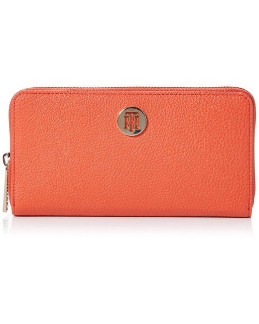 Th Core LRG Za Wallet Tommy Hilfiger en coloris Orange