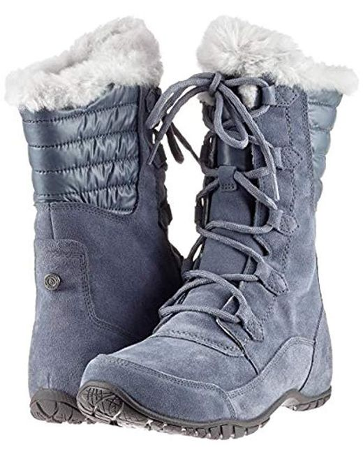 0739a5fdb The North Face Nuptse Purna Ii Snow Boots in Gray - Lyst