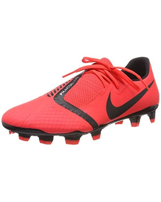 finest selection 7e2a8 13c71 Red Unisex Adults' Phantom Venom Academy Fg Footbal Shoes, Multicolour  Black/bright Crimson 600, 6.5 Uk