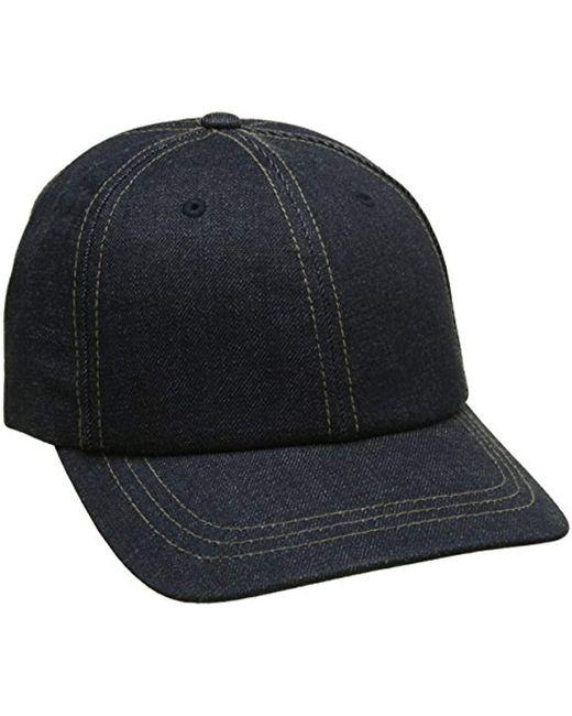 107c1408ae1 Levi s Denim Cap in Blue for Men - Save 13% - Lyst