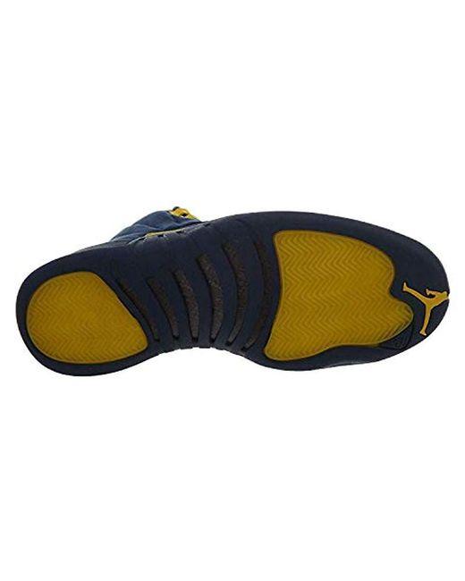 online retailer ba2f0 b4752 Nike Air Jordan 12 Rtr Michigan Nrg 'michigan' in Blue for ...
