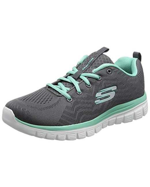 Skechers Graceful get Connected Trainers in Gray Save 20