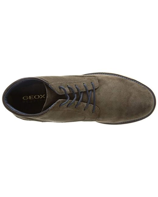 B Boots Men Green Garret Geox For U In Lyst Chukka Aj54RL3