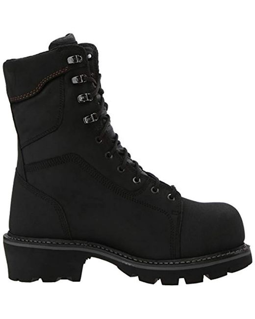 4dbc1062a33 Lyst - Timberland Rip Saw Composite-toe Logger Work Boot in Black ...