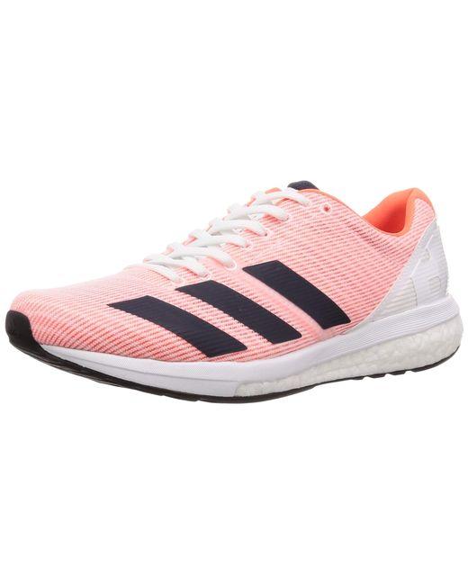 Adizero Boston 8 M Chaussures de Running Orange adidas pour homme ...