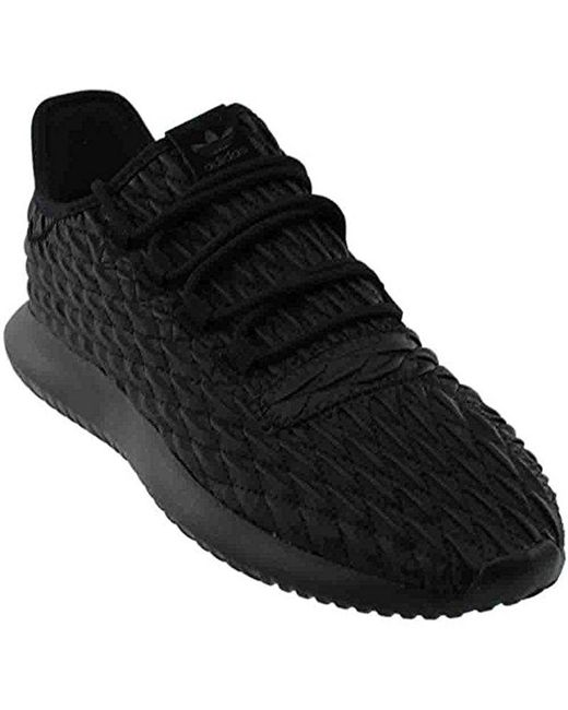 La sombra del tubular Lyst adidas Originals zapatillas de moda en negro para hombres