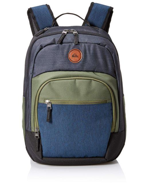Quiksilver Gray Schoolie Cooler Ii Backpack for men