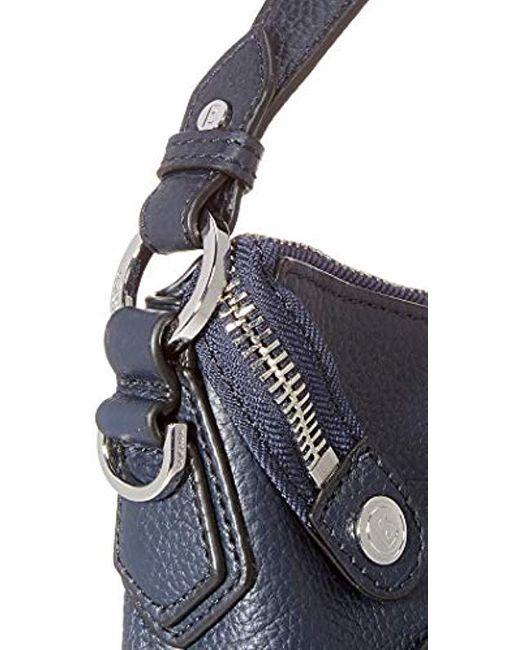 im Angebot Factory Outlets Neu werden Damen Sulden Marie Hobo Shz Schultertasche, 10x24x29 cm in blau