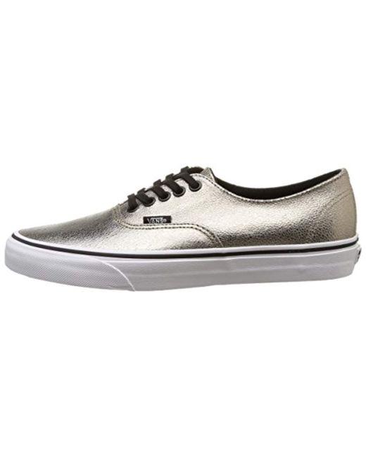 e6e0310e14 ... Vans - Metallic U Authentic Decon Unisex Adults Low-top Sneakers for  Men - Lyst ...