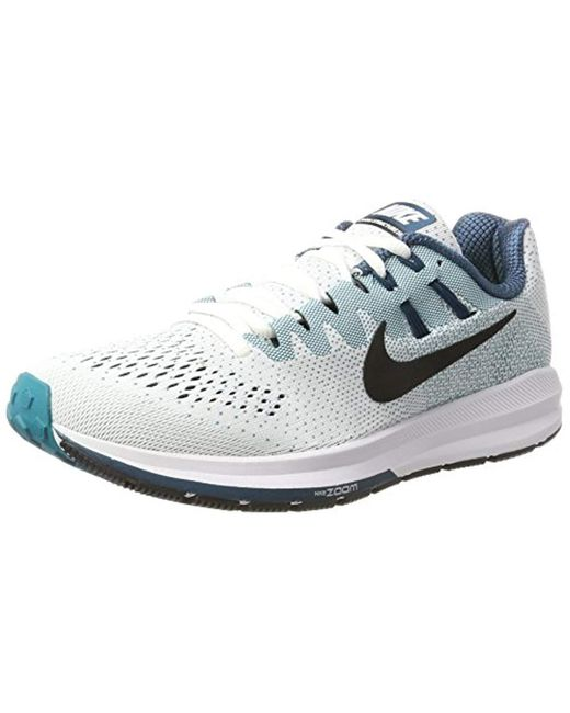 info for ba174 b28db Men's White Air Zoom Structure 20 Competition Running Shoes