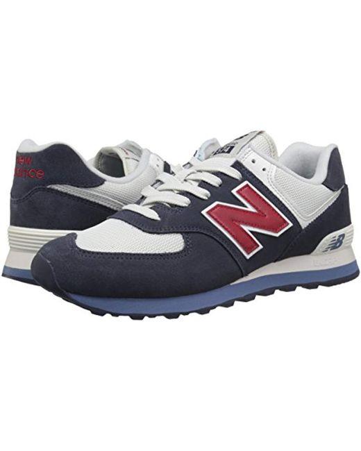 detailed look 60a72 6d2c5 Men's Blue 574v2 Sneaker