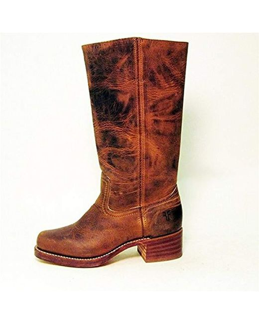 17bee68cd245 ... Frye - Brown Campus 14l Boot - Lyst ...