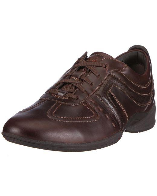 Zapatillas de Deporte de Cuero para Clarks de hombre de color Brown