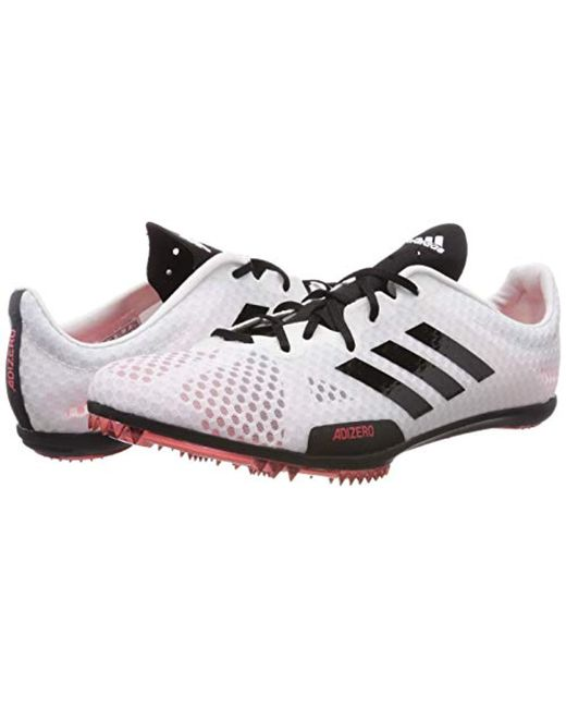 new arrival 4650f eb396 ... Lyst Adidas - White Adizero Ambition 4 W Track   Field Shoes ...