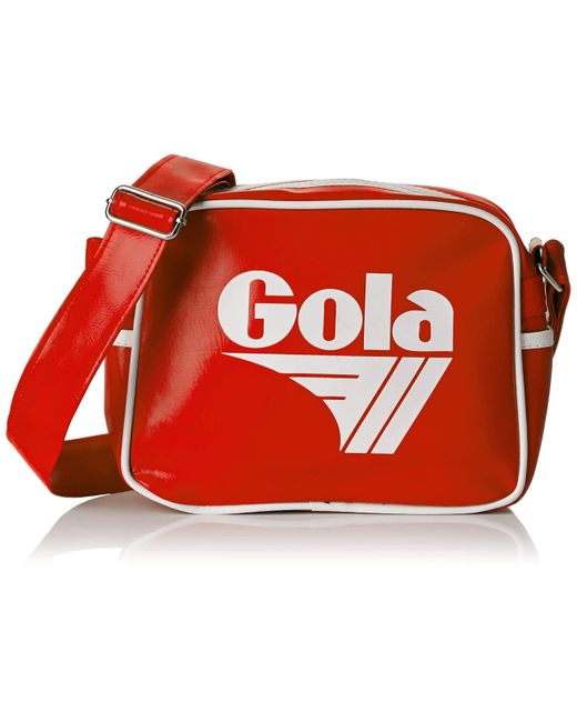 Borse Messenger di Gola in Red