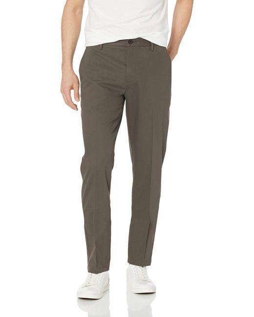 Marque Amazon – Pantalon chino infroissable avec coupe athlétique pour Goodthreads pour homme en coloris Gray