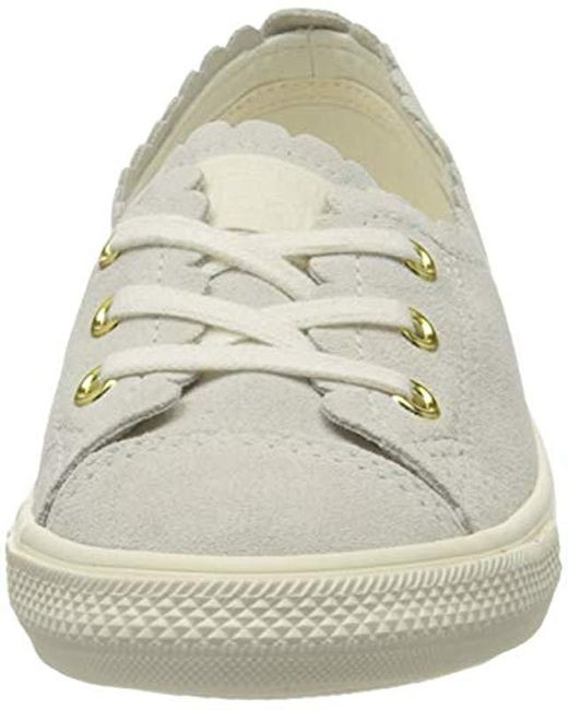 Converse Femme Chuck Taylor All Star Ballet Lace Slip Papyrus Sepia Gold