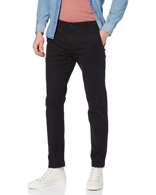 XX Chino Std II Pantalones para Hombre Levi's de hombre de color Black