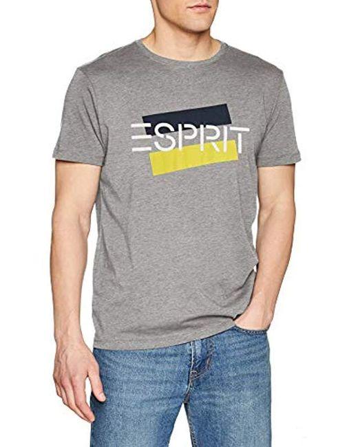 Esprit Gray T-shirt for men
