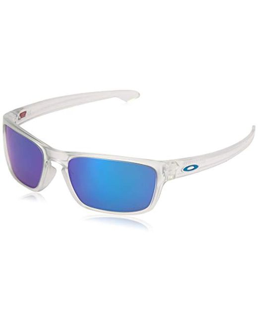 Oakley - Blue Sliver Stealth Gafas de sol Transparente 55 para Hombre for Men - Lyst