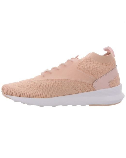 Reebok Pink Classic Zoku Runner Ultraknit Sport-Schuhe Bequeme Fitness-Schuhe Sneaker Freizeit-Schuhe Rosa