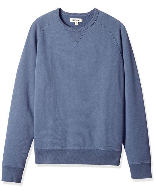 Crewneck Fleece Sweatshirt Goodthreads de hombre de color Blue