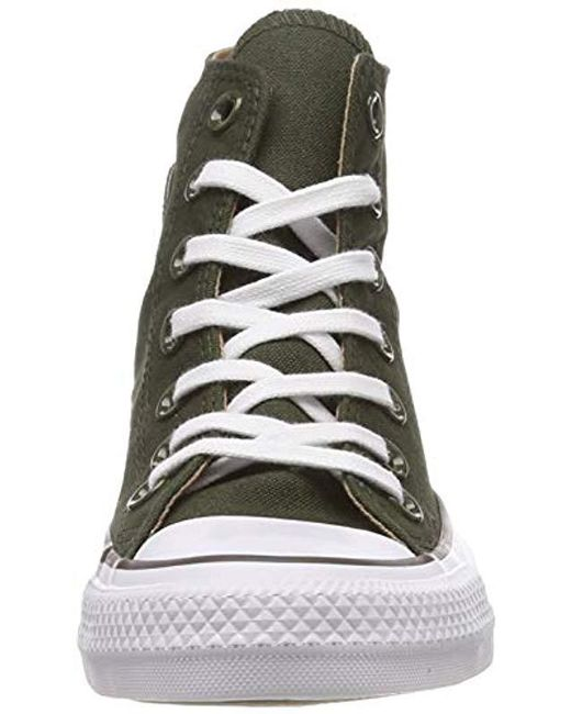 ac61fe956fd14 Green Unisex Adults' Chuck Taylor All Star Hi-top Trainers