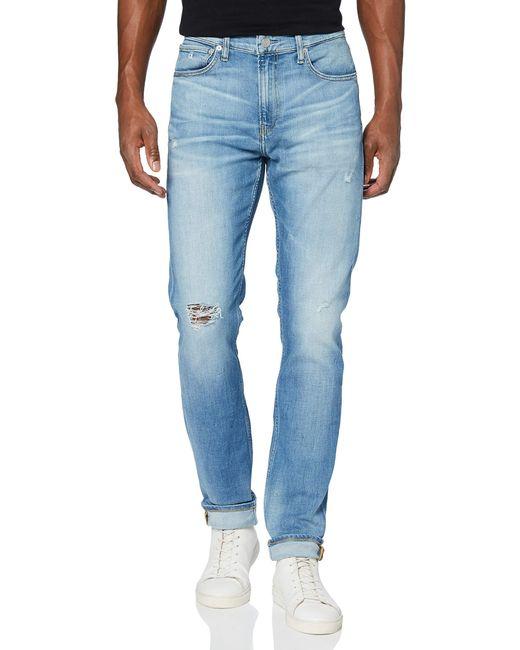 Ckj 058 Slim Taper Pantaloni di Calvin Klein in Blue da Uomo