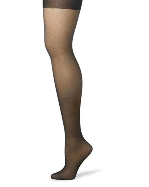 4a4bfb376 Hanes - Multicolor Silk Reflections Silky Sheer Control Top Sandalfoot  Hosiery (pack Of 3) ...