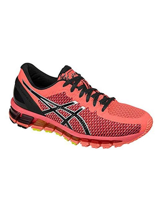 half off 6aa4b a5f2a Women's Red Gel-quantum 360 Cm Running Shoes (t6g6n)