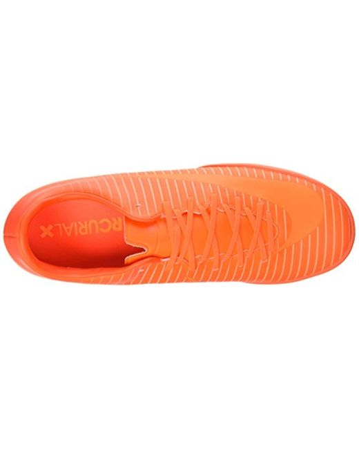 100% high quality new authentic wholesale outlet Nike Mercurial Victory Vi Tf Football Boots in Orange for ...