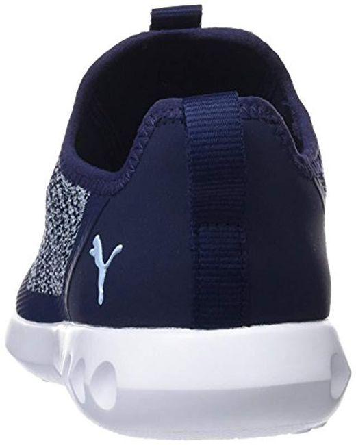 super popular 0b425 40d46 ... PUMA - Blue Carson 2 X Knit Wn s Chaussures de Running Femme ...