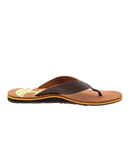 4e0f1f8aeba ... Lyst Timberland - Brown  s Wild Dunes Flip Flops for Men ...