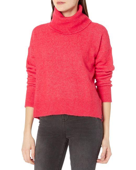Super Lux Funnel Neck suéter Superdry de color Red