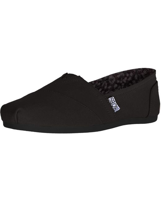 Skechers Black Bobs Plush - Peace And Love - Final Sale